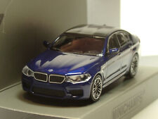 Minichamps BMW M5, 2018, blau met. - 870 028001 - 1:87