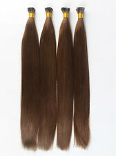 "I-Tip Pre-Bonded Extensions Finest European Remy Hair 100 Strands 22"" Color #4"