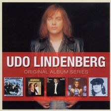 UDO LINDENBERG - ORIGINAL ALBUM SERIES 5 CD ROCK NEU