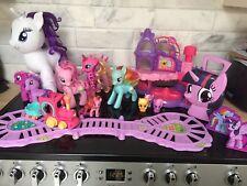 Big My Little Pony MLP Toys Toy Bundle - Train, Flip Rainbow Dash