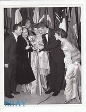 Helen Of Troy premiere Natalie Wood VINTAGE Photo Eddie Bracken Rosemary Ace
