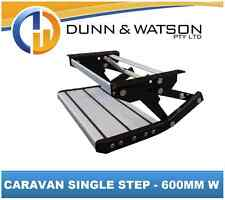 Pull Out / Drop Down Caravan / RV Single Step - 600mm (Pullout, Motorhome)