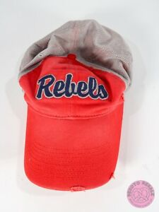 NIKE ~ Ole Miss Rebels ~ Distressed ~ Fitted Stretchy Hat  ~ See Pics