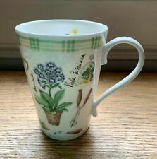Gardeners Fine Bone China Mug Nick Holland Garden Hudson Middleton UK Unused New