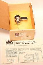 Rheodyne 7520 HPLC syring loading micro sample Injector einspritzventil manualmente
