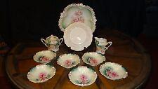 R.S Prussia Porcelain Set Art Noveau