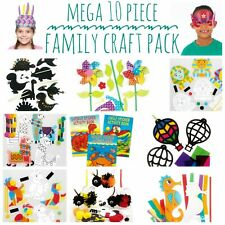 Kids Craft Pack Bundle for Home school children home work art crafts