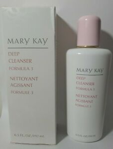 Mary Kay DEEP Facial CLEANSER Formula 3 FOR OILY SKIN  6.5oz New / Old Stock