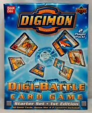Digimon Digi-Battle Starter Set 1st Edition Factory Sealed