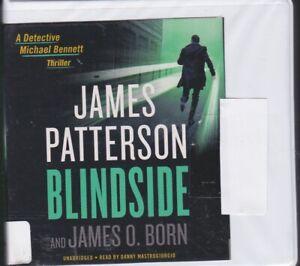 BLINDSIDE by JAMES PATTERSON ~ UNABRIDGED CD AUDIOBOOK