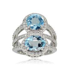 Blue Friendship Sterling Silver Fine Rings