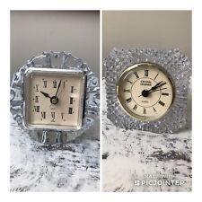 Vintage Quartz And Crystal Legends Mantel Clocks