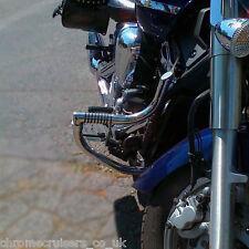 Yamaha XVS 1300 Midnight Star Motore Paramotore Guard con incluso Highway Pedane