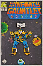 INFINITY GAUNTLET#4 VF 1991 THANOS MARVEL COMICS