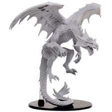 WizKids Pathfinder Deep Cuts Unpainted Miniatures Gargantuan White Dragon