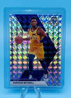Donovan Mitchell 2019-20 Panini Mosaic Silver Mosaic Prizm #13 SP Jazz PSA?!