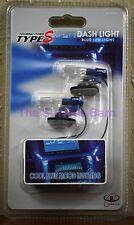 Interior Dash Cool Blue Mood Lighting LED Plug Into 12V Accessory Lighter Socket