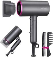 HIFAIRY Portable Professional Hair Dryer With 2 Professional Concentrators