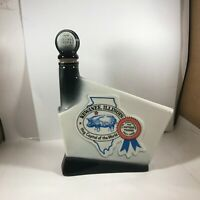 Vintage JIM BEAM Decanter The Antique Trader Kewanee Illinois