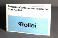 Precision Cameras & Projectors From Rollei 1966 Brochure 16S / 35 / 2.8F / 3.5F