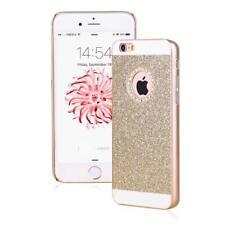"COQUE IPHONE 6 6S (4""7) BLING OR GOLD CONTOUR DIAMANT SILICONE RIGIDE (TPU)"