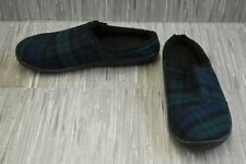 **Toms Berkeley Slippers, Men's Size 11, Navy Plaid