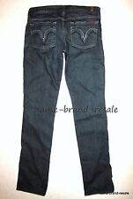 7 FOR ALL MANKIND Kate Jeans Womens 29 x 34 TALL Straight Leg Barcelona Wash USA