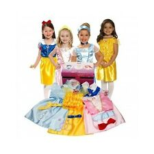 Dress Up Clothes For Little Girls Disney Princess Pretend Play Gift Fits 4 - 6x
