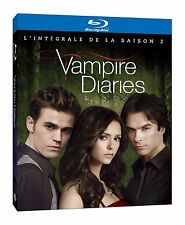Vampire diaries (saison 2) coffret 4 blurays neuf/cello