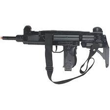 NIB Walking Dead UZI 12 Shot Cap Submachine Gun Zombie Killer Israeli Rifle