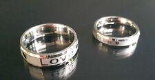 Echte Edelmetall-Ringe ohne Steine im Verlobung-Stil aus Edelstahl