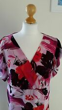 pretty Pink and Raspberry Blouse Size 18 from Limited Collection