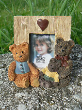 NUOVO Mini cornice portafoto bear family Figi Graphics 1996