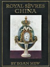 Antique French Royal Sevres China - History Identification -100-Year Old Book