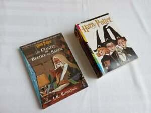 Coffret HARRY POTTER LIVRES 1/2/3 + Les contes de Beedle le barde