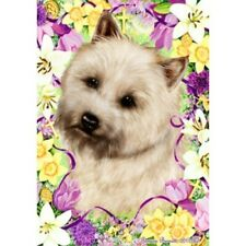 Easter House Flag - Wheaten Cairn Terrier 33094