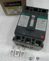 THED136040WL General Electric Molded Case Circuit Breaker 3 Pole 40 Amp 600V NEW
