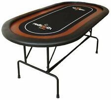Redtooth Poker 8-Seat Speed Cloth Poker Table with Foldable Legs and Carry Case