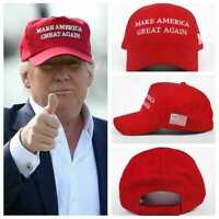 President Donald Trump Make America Great Again Hat MAGA US Republican Red Cap