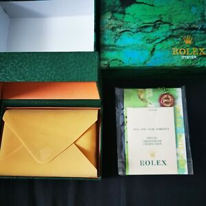 Rolex oyster watch box with Papers and Tags+for Rolex Submariner Date 116610