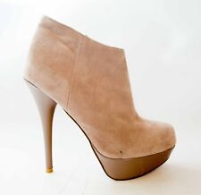Steve Madden Tan Suede Shoes Chelseey Booties sz 8.5