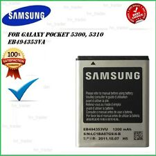New Samsung Pocket 5300, Galaxy Y Battery 1200mAh EB494353VA High Capacity