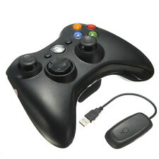 Wireless Game Remote Controller + Receiver for Microsoft Xbox 360 Console PC