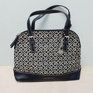[ TOMMY HILFIGER ] Womens Small Signature Satchel Bag / Handbag NEW + TAGS