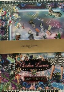 New Christian Lacroix Fete Vos Jeux! 10X7 Hardcover Lined Journal Diary Notebook