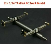 For 1/14 Scale TAMIYA RC Trailer Plate Truck  LESU Metal Suspension Passive Axle