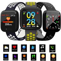 Smart Watch Bracelet Heart Pressure Monitor Rate Blood Pedometer Fitness Tracker