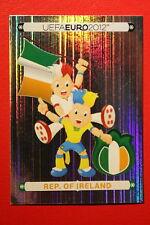 Panini EURO 2012 N. 339 IRELAND MASCOTTE NEW With BLACK BACK TOPMINT!!