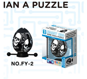 Smart Egg Labyrinth Puzzle Maze Brain Teaser Educational Game Toy Children Gift