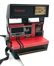 Polaroid Red 645 CL SuperColor Camera, Using 600 Film **RARE** camera - Working